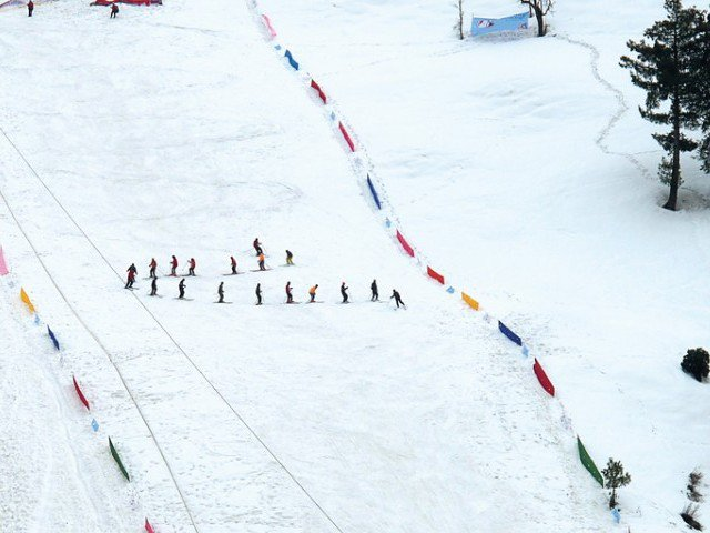 gda to host skiing festival at mushkpuri