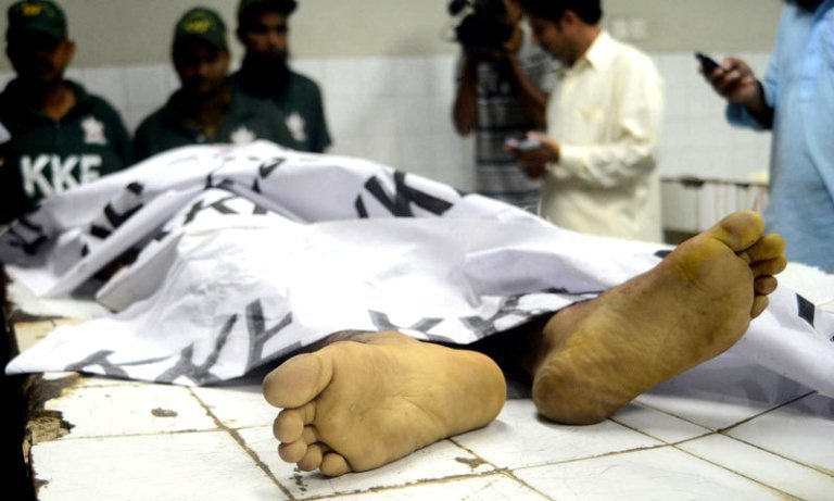 a post mortem examination of the body shows the man has been tortured to death photo afp file