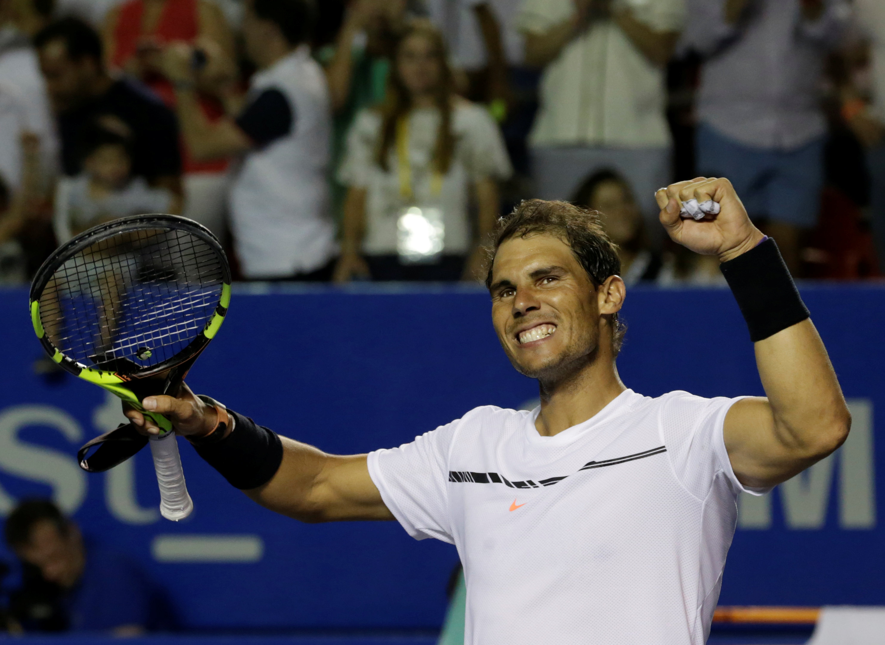 Nadal has failed to win hard court title since 2014. PHOTO: REUTERS