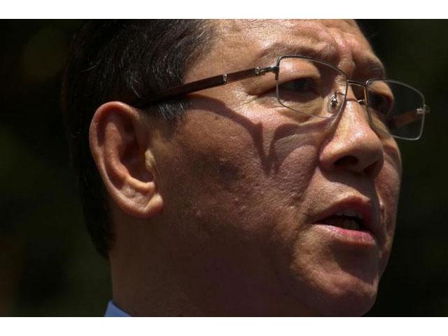 north korean ambassador to malaysia kang chol speaks during a news conference at the north korean embassy in kuala lumpur malaysia february 20 2017 photo reuters