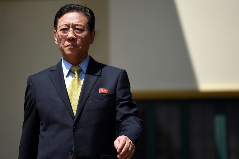 kang chol north korea 039 s ambassador to malaysia has been given 48 hours to leave the country in a major break in diplomatic relations photo afp