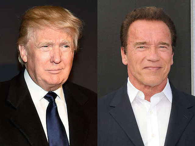 trump insists schwarzenegger was fired from the apprentice