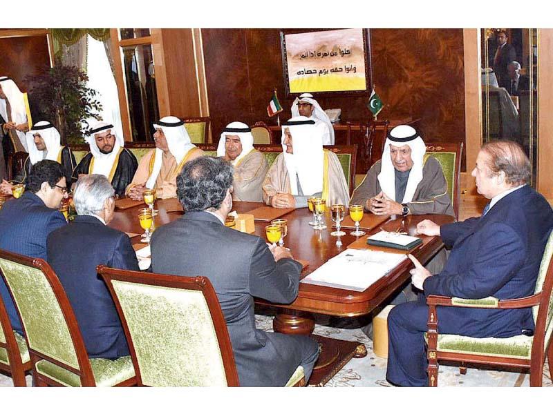 pm invites kuwaitis to invest in pakistan