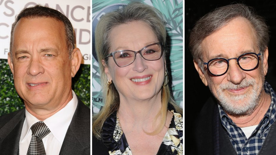 tom hanks meryl streep to star in drama about pentagon papers