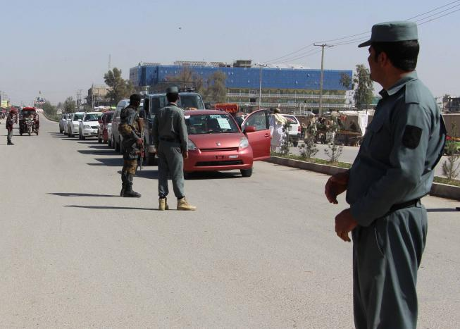 afghan police in volatile south complain of not being paid