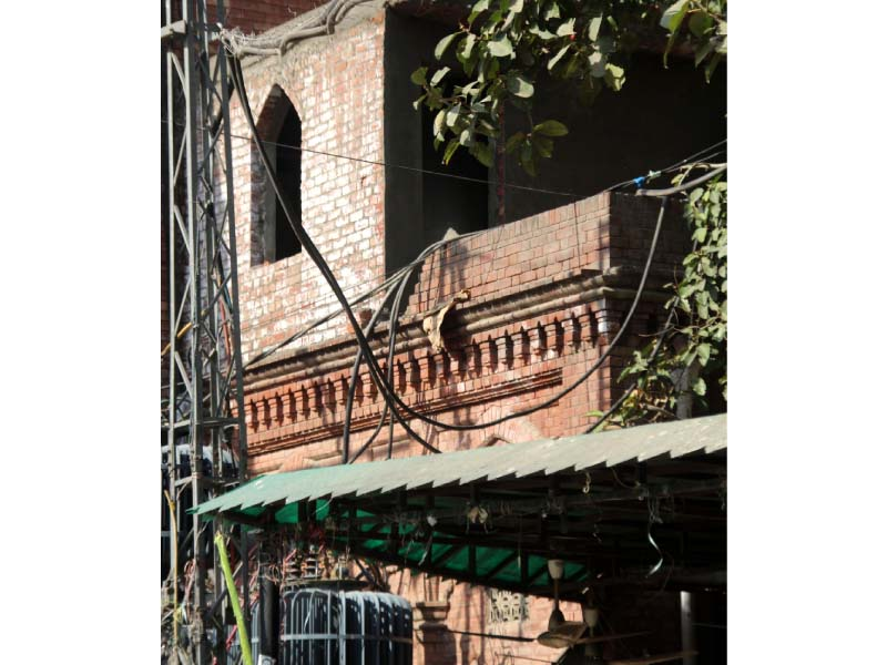 lhcba altering historic kiyani hall by building washrooms