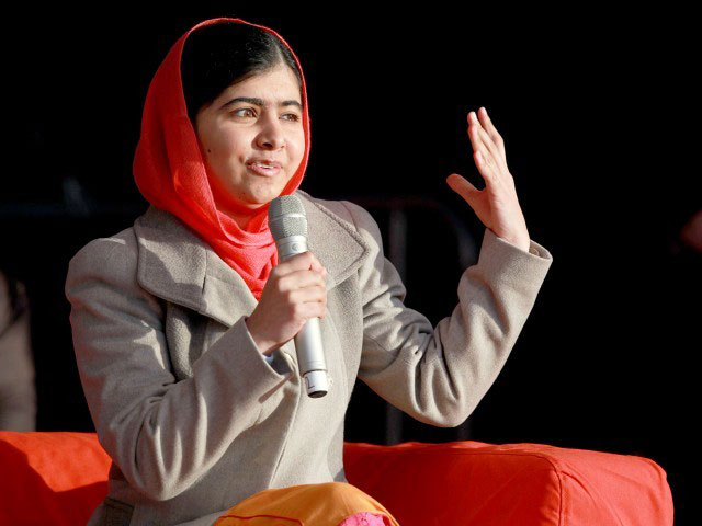 The 19 year old continues her struggle and activism for women's rights and has become a symbol for women empowerment in Pakistan. PHOTO: AFP