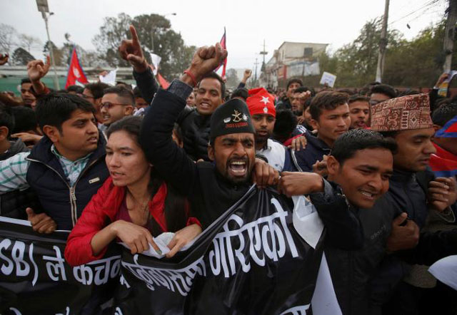 anti india protests erupt in nepal over shooting death on border