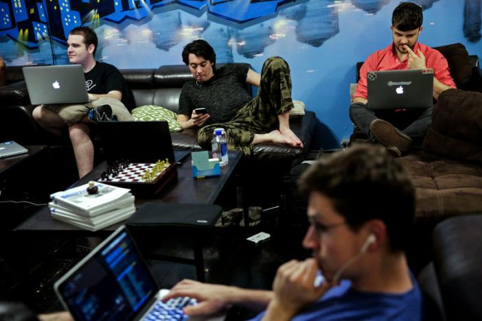tech workers find communal living a solution for high rents