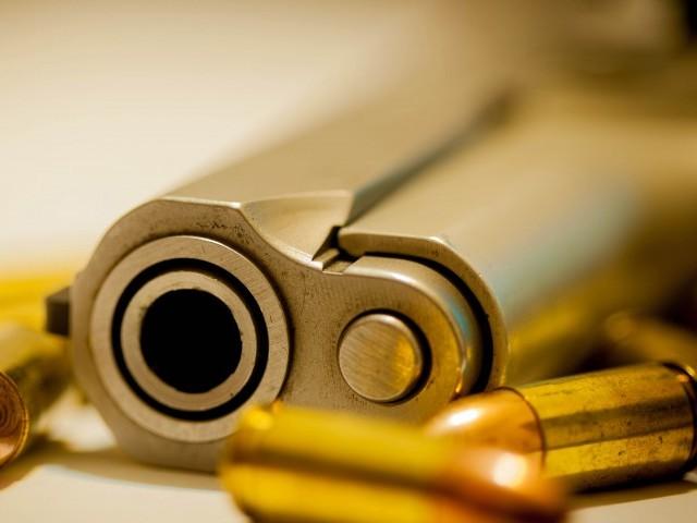 violent end murder suspect out on bail shot dead
