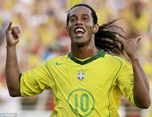 Brazil football legend Ronaldinho. PHOTO: REUTERS
