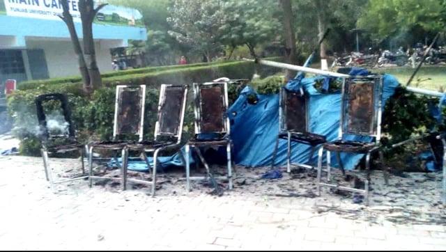 clashes hit punjab university over pashtun culture day