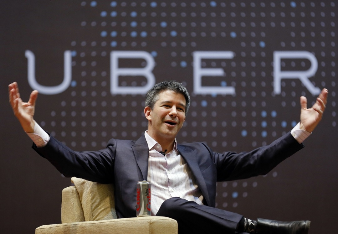 uber chief remains in driver s seat on road to change