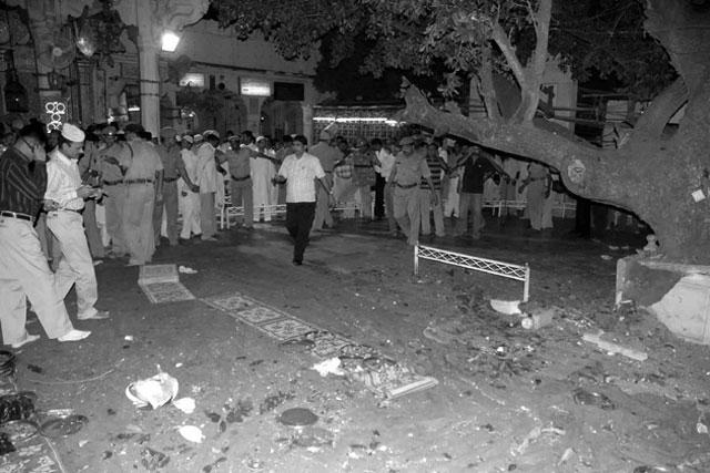 site og the ajmer sharif blast in jaipur india photo file
