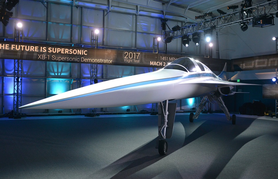 this new supersonic passenger jet will cut travel times by half