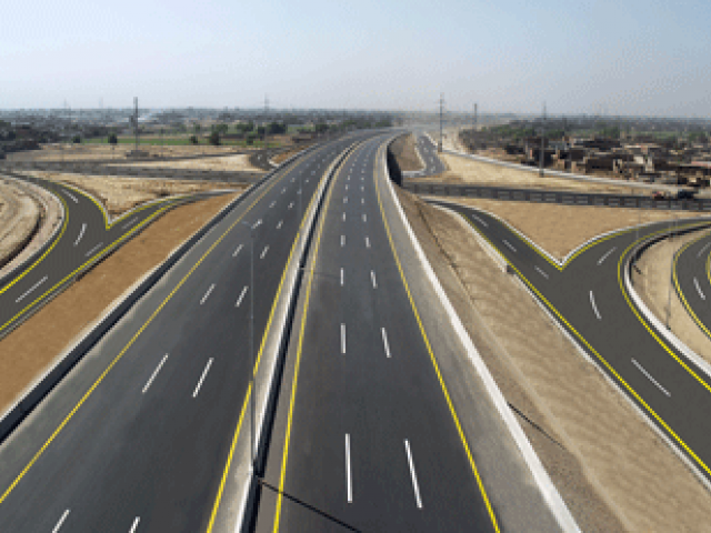 rawalpindi commissioner asks nespak to finalise design of 38 kilometres long ring road from rawat to thalian on the motorway photo express file