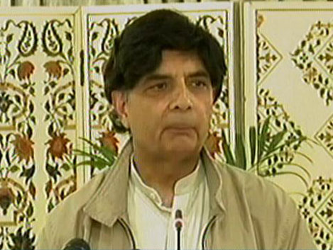 interior minister chaudhry nisar addressing a news conference in islamabad on march 28 2017 express news screen grab