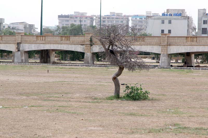 130 acre bagh ibne qasim open for public