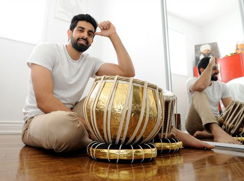 i love indo pak rivalry in cricket but music transcends those barriers tabla sensation shobhit banwait
