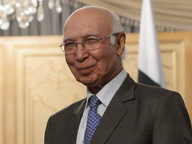Adviser to PM on foreign affairs Sartaj Aziz