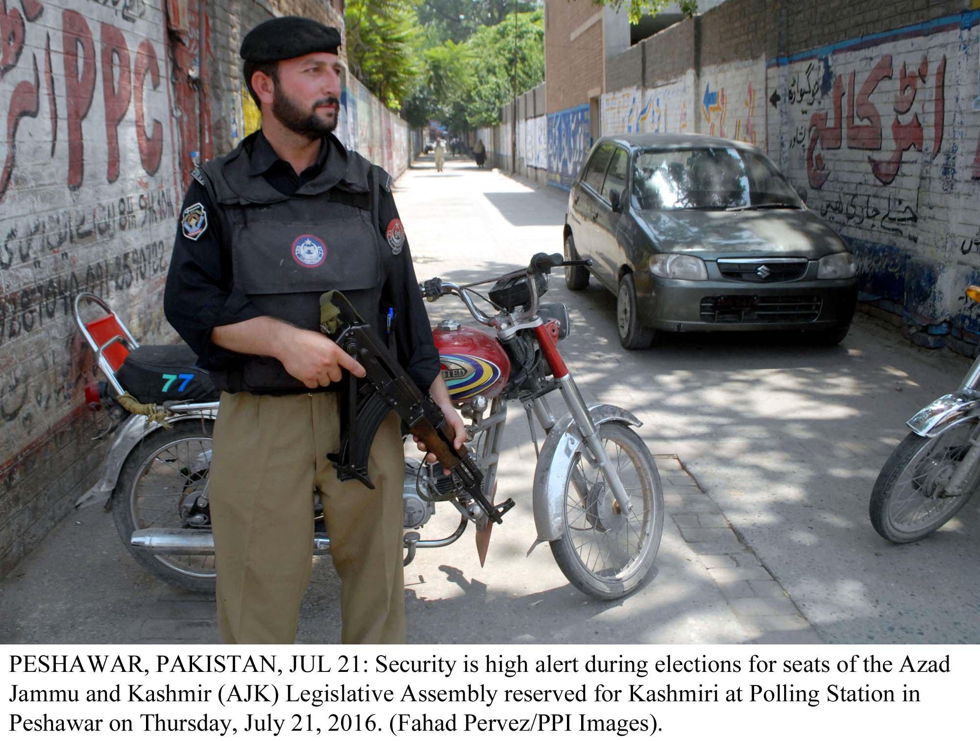 no political intrusion in k p police top cop