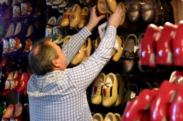 dutch clog makers hoping to put a stamp on the future