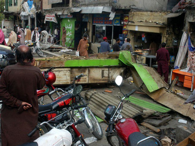 aabpara aftermath traders decry lopsided encroachment drive
