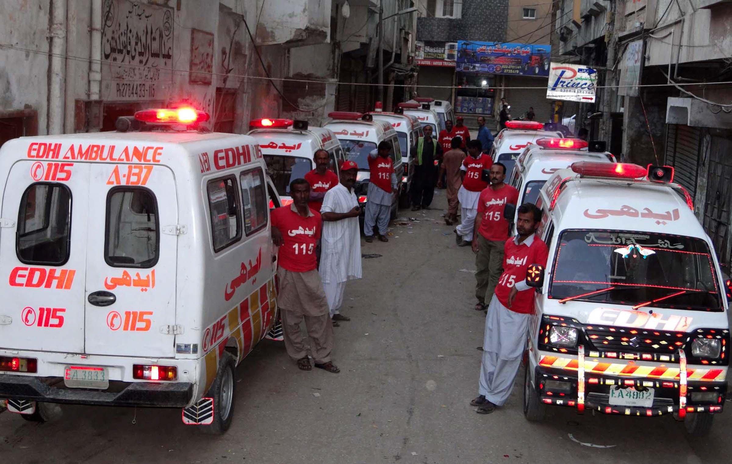 edhi ambulances to soon have trained paramedics on board