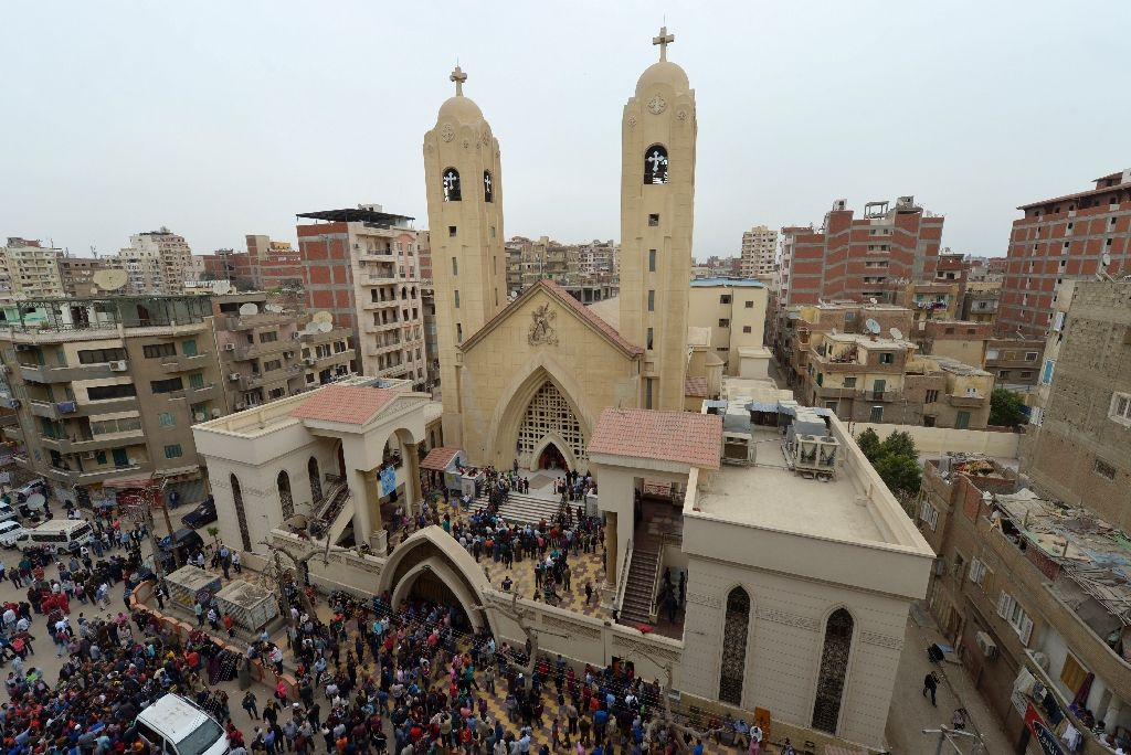 state of emergency in egypt after islamic state church bombings kill 44