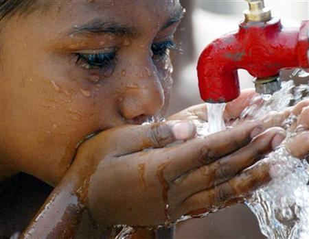 The Water Management Wing of CDA is trying to devise a plan to ensure regular supply of water. PHOTO: REUTERS/FILE