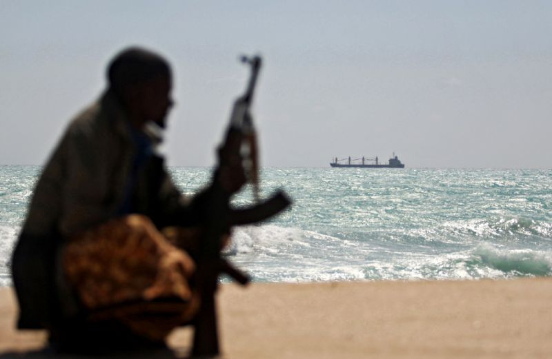 somali pirates flee hijacked indian dhow taking crew with them