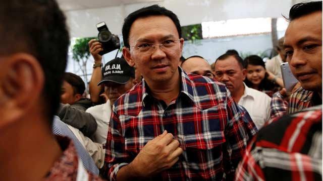 Jakarta Governor Basuki Tjahaja Purnama has been accused of insulting the Holy Quran. PHOTO: REUTERS