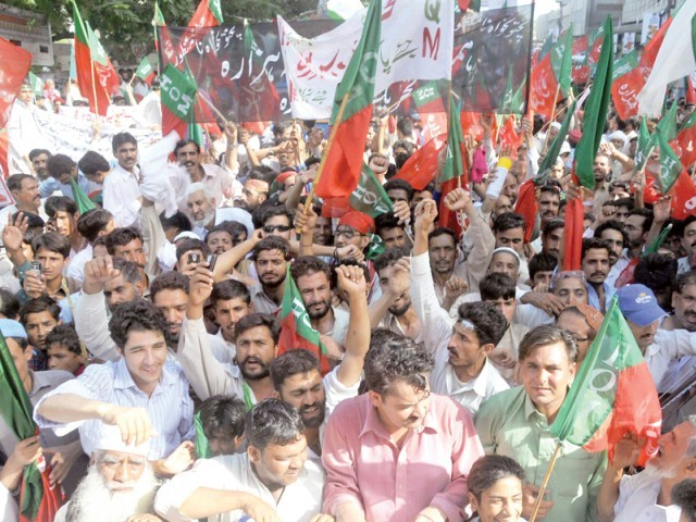 pro hazara province mass rally held in abbottabad