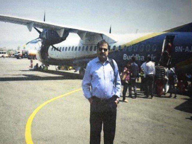 lt col retd muhammad habib zahir went missing from nepal on april 6 photo file