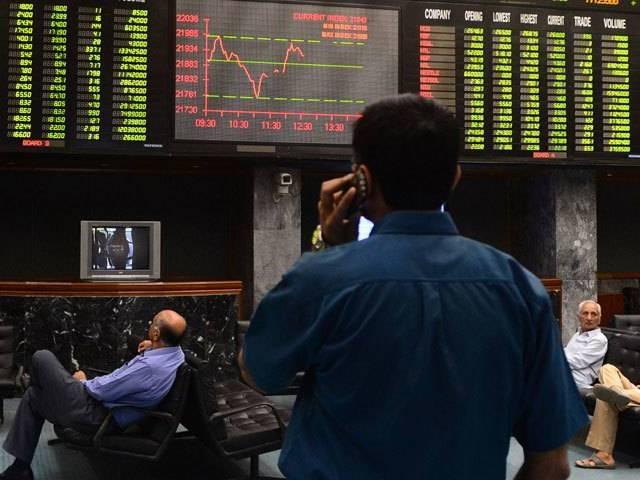 market watch thin participation keeps kse 100 under pressure