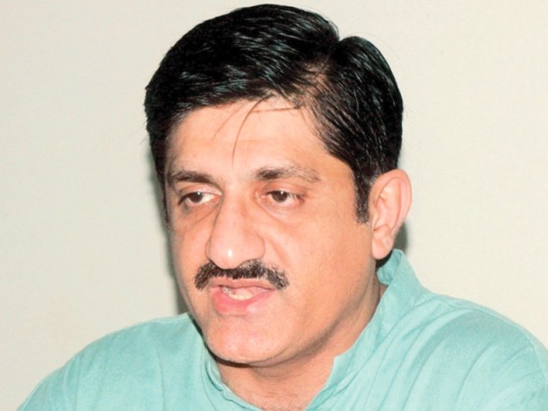 Sindh Chief Minister Murad Ali Shah. PHOTO: EXPRESS