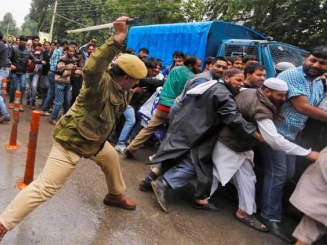 indian troops shell iok college wound 50 students