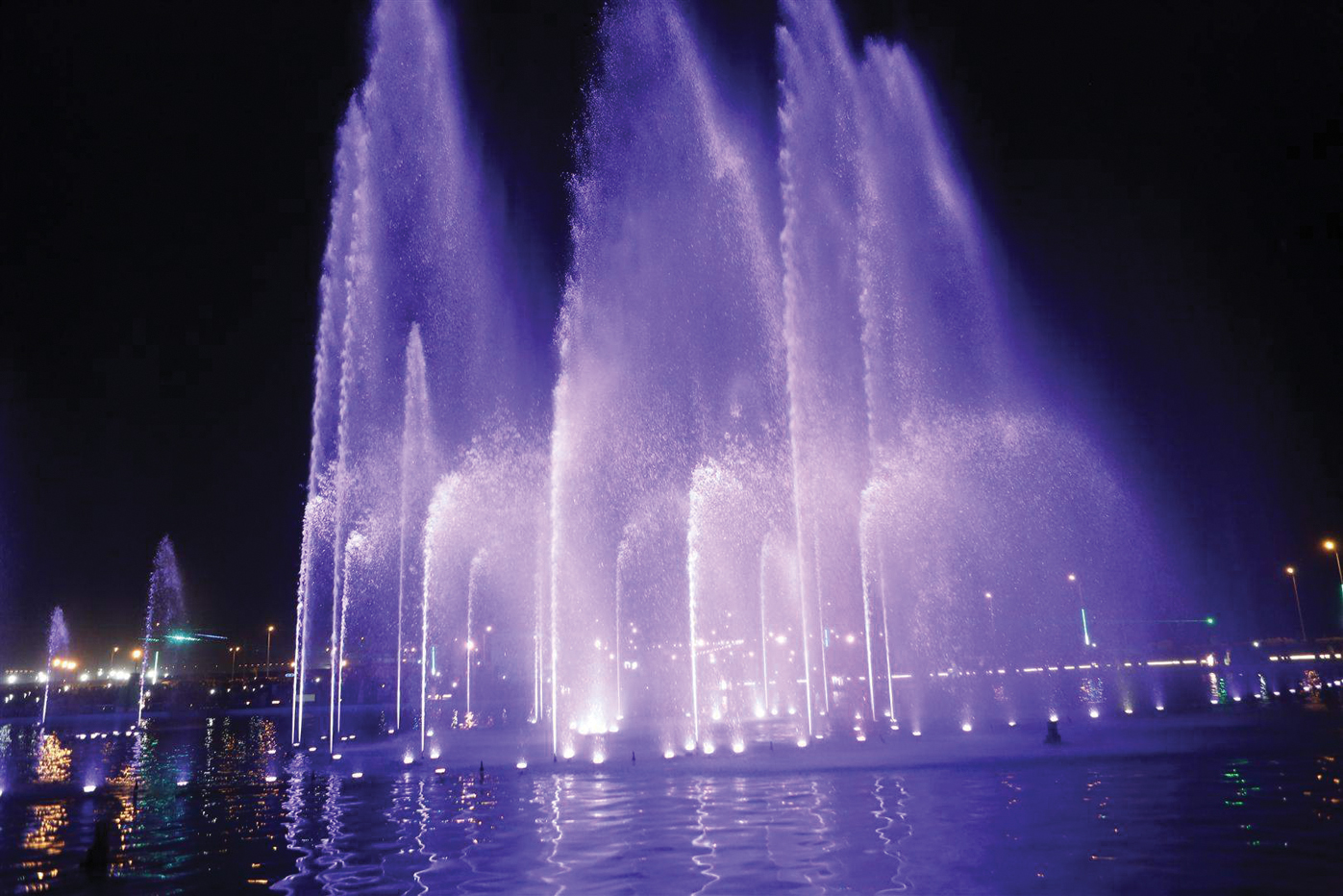 s asia s largest dancing fountain inaugurated in bahria town