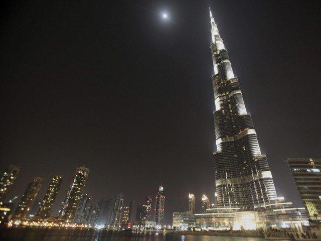 dubai skyline featuring the burj khalifa photo reuters