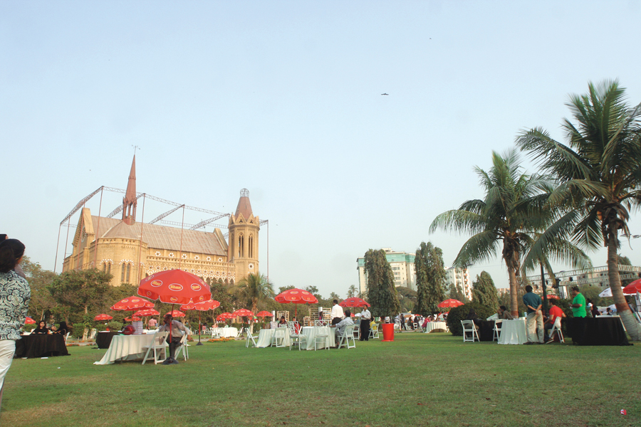 illegal permission for yet another commercial activity at frere hall