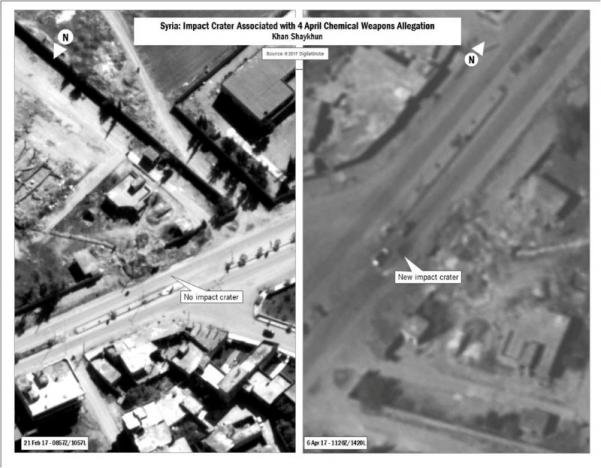 syrian envoy slams us airfield attack message to north korea