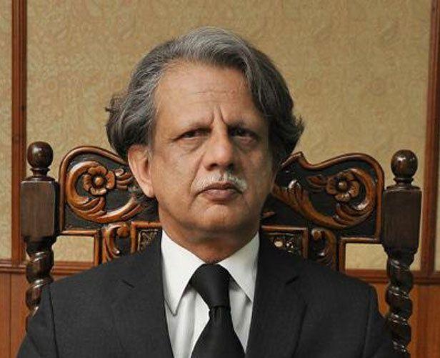 justice retd azmat saeed photo file