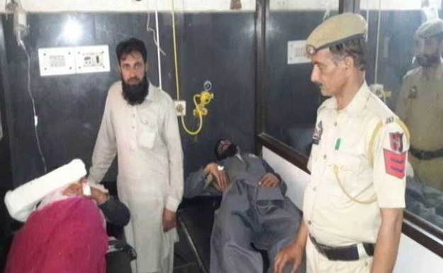Five members of a family including a nine-year-old girl were injured in an attack by cow vigilantes in the Reasi district of Indian-occupied Kashmir. PHOTO/NDTV