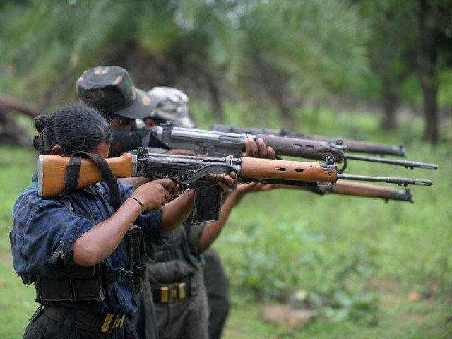 indian maoist rebels kill 24 commandos in chhattisgargh