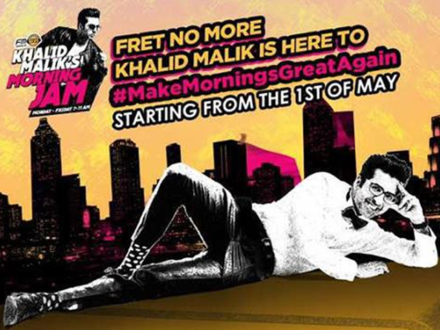 sponsored khalid malik is back on air with fm 91