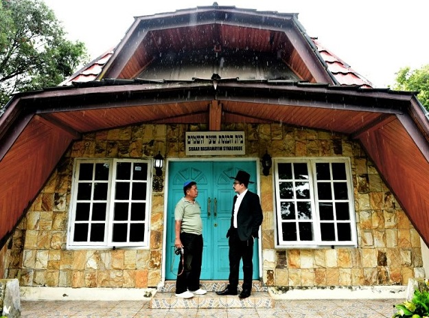 In a remote corner of the Indonesian archipelago, a modest synagogue stands in a tiny Jewish community that has found acceptance despite rising intolerance in the world's most populous Muslim-majority country. PHOTO: AFP
