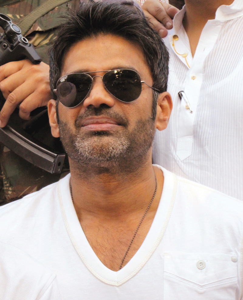 suniel shetty i started hating my work and didn t want to face the camera again