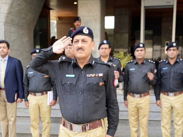 the controversy surrounding the attempted surrender of ig khawaja 039 s services continues as the provincial government is excluding him from official meetings photo online