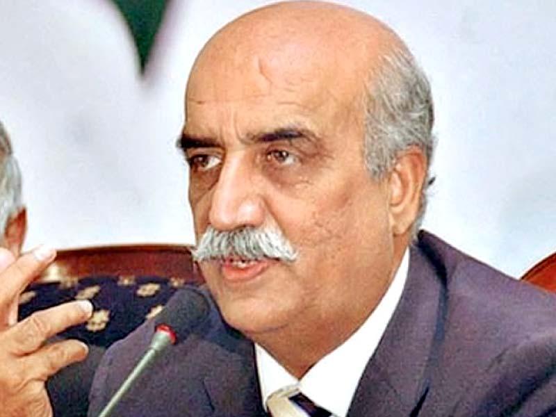 opposition leader khurshid shah