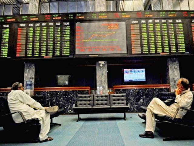 market watch kse 100 ends week and month on negative note